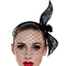 Fashion hat Black Birdcage Veil, a design by Melbourne milliner Louise Macdonald