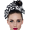 Fashion hat Black Lace Tiara, a design by Melbourne milliner Louise Macdonald