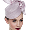 Fashion hat Lilac Pillbox, a design by Melbourne milliner Louise Macdonald