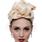 Fashion hat Turban for Abby, a design by Melbourne milliner Louise Macdonald
