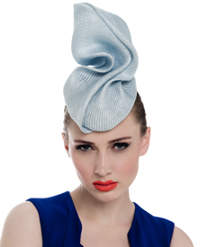 Fashion hat Makossa, a design by Melbourne milliner Louise Macdonald