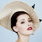 Fashion hat Adiva, a design by Melbourne milliner Louise Macdonald