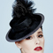 Fashion hat Joya Boater, a design by Melbourne milliner Louise Macdonald
