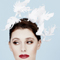 Fashion hat Leandra Headpiece, a design by Melbourne milliner Louise Macdonald