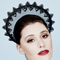 Fashion hat Liberty Crown, a design by Melbourne milliner Louise Macdonald