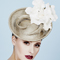 Fashion hat Margeaux, a design by Melbourne milliner Louise Macdonald