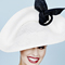 Fashion hat Mercedes, a design by Melbourne milliner Louise Macdonald