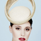 Fashion hat Odessa in Natural Tones, a design by Melbourne milliner Louise Macdonald