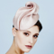 Fashion hat Pink Sega Headpiece, a design by Melbourne milliner Louise Macdonald