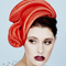 Fashion hat Sadika, a design by Melbourne milliner Louise Macdonald