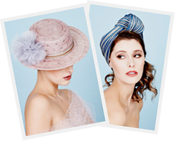 Melbourne milliner Louise Macdonald's fashion hats