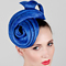 Fashion hat Blue Jupiter, a design by Melbourne milliner Louise Macdonald