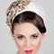 Fashion hat Estee Halo, a design by Melbourne milliner Louise Macdonald