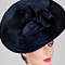 Fashion hat Loni, a design by Melbourne milliner Louise Macdonald