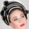 Fashion hat Stella, a design by Melbourne milliner Louise Macdonald