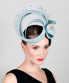 Fashion hat Neptune, a design by Melbourne milliner Louise Macdonald