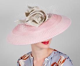 Fashion hat Nova, a design by Melbourne milliner Louise Macdonald
