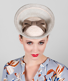Fashion hat Orion, a design by Melbourne milliner Louise Macdonald