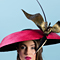 Fashion hat Amelia, a design by Melbourne milliner Louise Macdonald