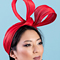 Fashion hat Clara, a design by Melbourne milliner Louise Macdonald
