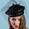 Fashion hat Della, a design by Melbourne milliner Louise Macdonald