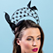Fashion hat Florence, a design by Melbourne milliner Louise Macdonald