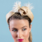 Fashion hat Hazel, a design by Melbourne milliner Louise Macdonald