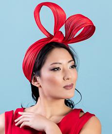 Fashion hat Clara, a design by Melbourne milliner Louise Macdonald