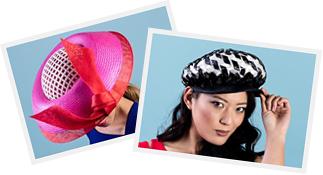 Melbourne milliner Louise Macdonald's fashion hats