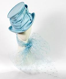 Fashion hat Aurora, a design by Melbourne milliner Louise Macdonald