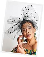 Fashion hat Sofia Veil, a design by Melbourne milliner Louise Macdonald