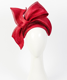 Fashion hat Napoli, a design by Melbourne milliner Louise Macdonald