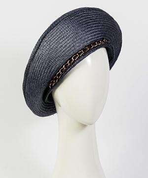 Fashion hat Viola Beret, a design by Melbourne milliner Louise Macdonald