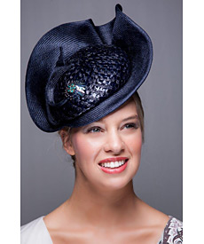 Fashion hat Memphis, a design by Melbourne milliner Louise Macdonald