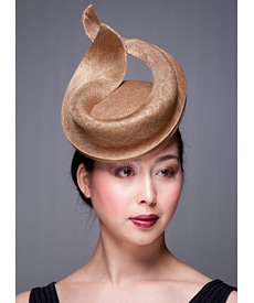 Fashion hat Yazoo, a design by Melbourne milliner Louise Macdonald