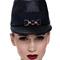 Louise Macdonald Milliner's 2015 collection for Hugo Boss Melbourne - Fashion hat Navy Polo Cap