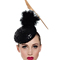 Louise Macdonald Milliner's 2015 collection for Hugo Boss Melbourne - Fashion hat Black Sequin Headpiece