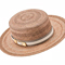 Louise Macdonald Milliner's 2016 collection for Hugo Boss Melbourne - Fashion hat Clarice Boater