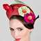 Louise Macdonald Milliner's 2017 collection for Hugo Boss Melbourne - Fashion hat Bill and Ben