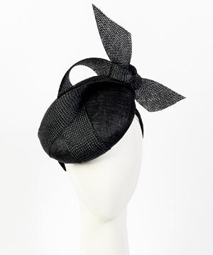 Fashion hat Shermeen Beret, a design by Melbourne milliner Louise Macdonald