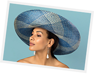 Millinery course at Louise Macdonald's studio in Melbourne: Big Brimmed Hats without Blocks