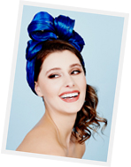 Millinery course at Louise Macdonald's studio in Melbourne: Silk Abacca Turbans