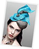 Fashion hat designed by Melbourne milliner Louise Macdonald
